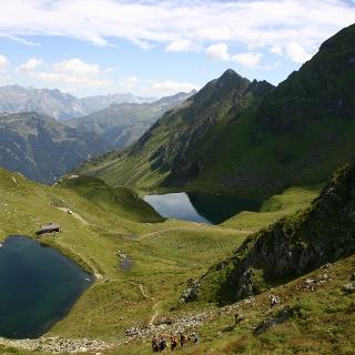 Kälbersee mit Schwarzsee