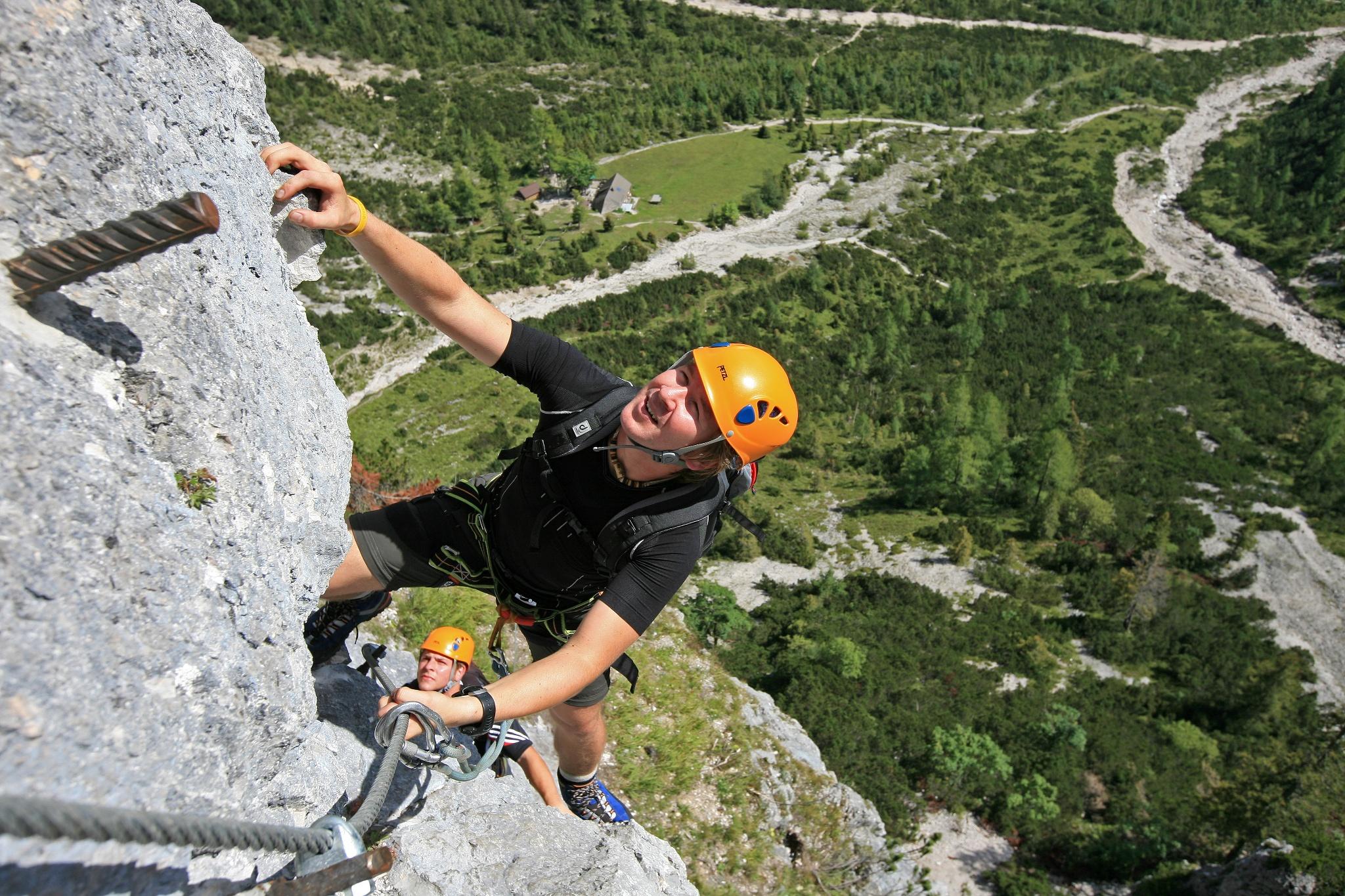 Klettersteig Ramsau : Siega klettersteig Österreichs wanderdörfer