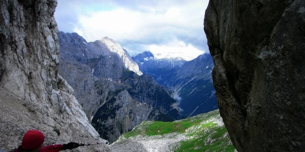 Ausblick zur Zugspitze (07.08.2012)