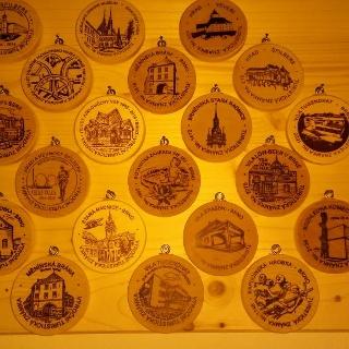 Posbírané Turistické známky