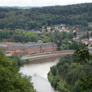 Blick auf Saar und Mettlach