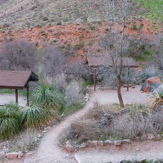 Zeltplatz am Indian Garden