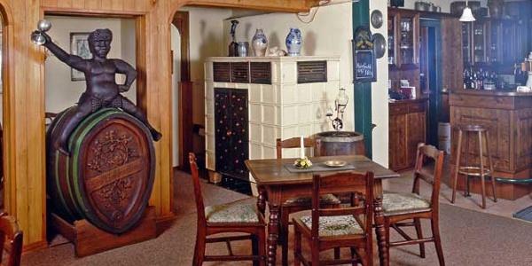 Gaststube in Schellhorns Restaurant & Bar Arnstadt