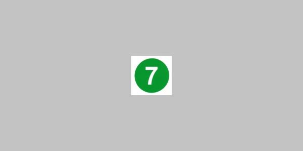 Kennzeichnung Rundwanderweg Nr. 7