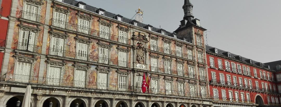 Die Plaza Mayor, ein beliebtes Touristenziel