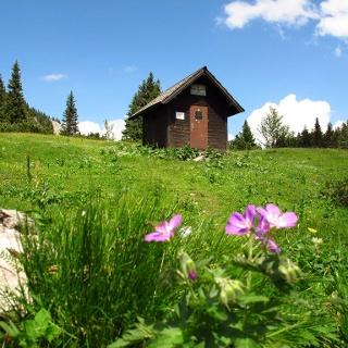Wolfgang-Dirnbacher-Hütte auf der Rax, Schutzhaus des Österreichischen Touristenklubs