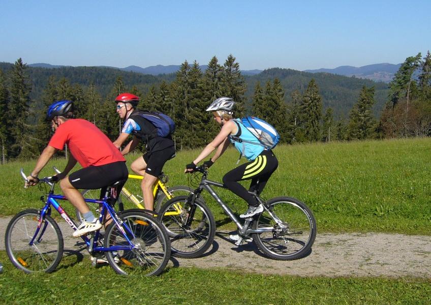 Höchenschwand: Mountainbiketour entlang der Flüsse