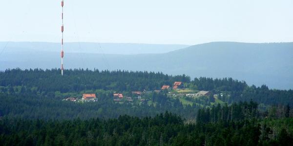 Blick vom Goetheweg nach Torfhaus