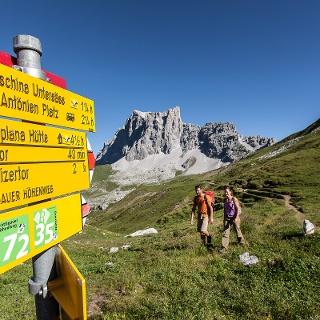 Unterwegs auf dem Prättigauer Höhenweg