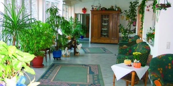 Wintergarten im Gästehaus Steker