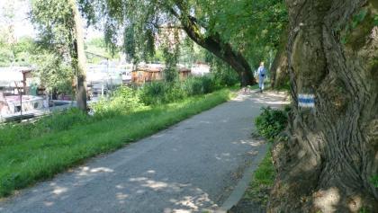 Fernwanderweg E10 an der Neustädter Havelbucht