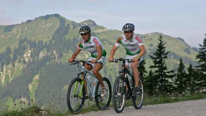Mountainbiken auf Höhenwegen