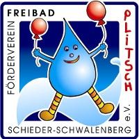 """Logo Freibadverein """"Plitsch"""""""