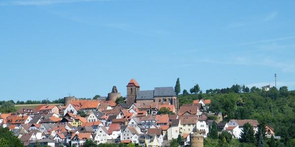 Blick auf das Burgdorf