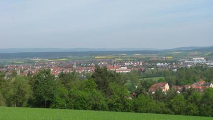 Blick auf Bad Neustadt
