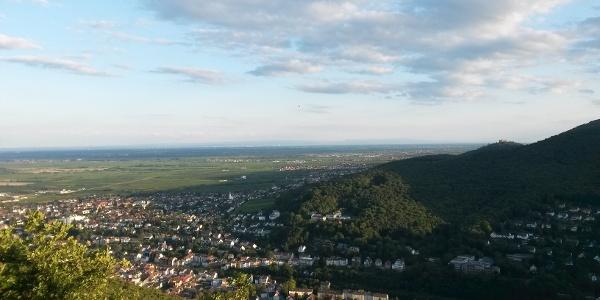Ausblick vom Bergstein