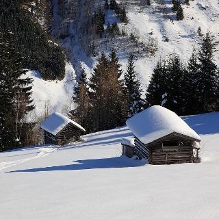 Heustadln im Winter