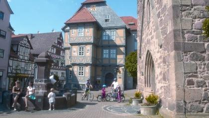 Altes Rathaus in Hessisch Lichtenau