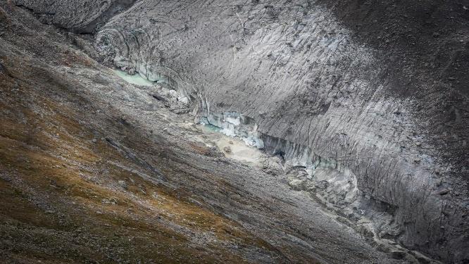 Le glacier du Gorner au fil du temps