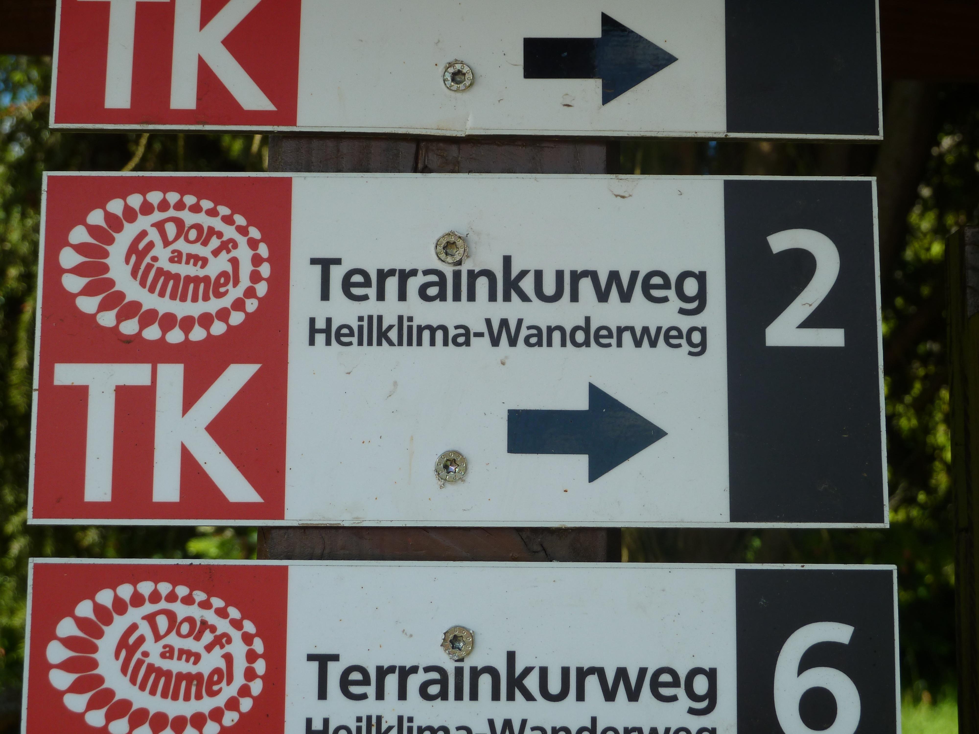 Wegbeschilderung TK 2