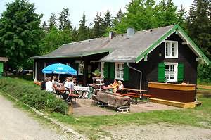 Loipenhaus Höchenschwand im Sommer