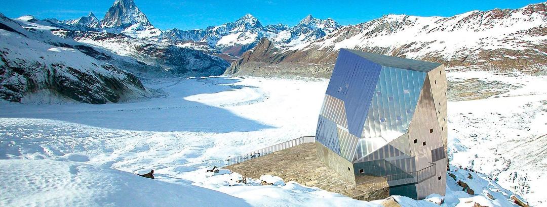 Die höchsten Berghütten in den Alpen
