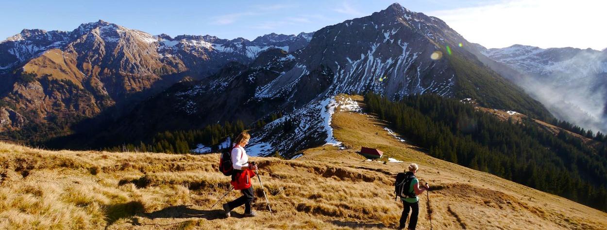 Die schönsten Sonnenaufgangstouren im Oberallgäu