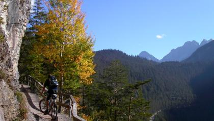 Over the Alps by mountain bike