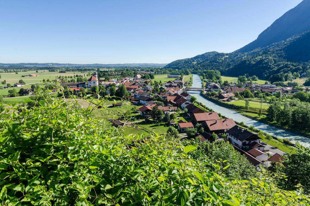 Fernradweg Bodensee Konigssee Radweg Durch Das Blaue Land Das