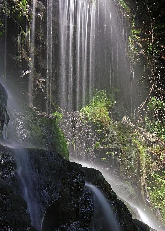 Durch romantischen Bannwald zum Zweribach-Wasserfall