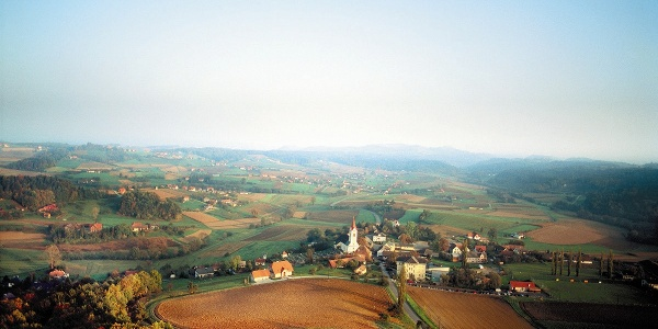Luftbild St. Nikolai