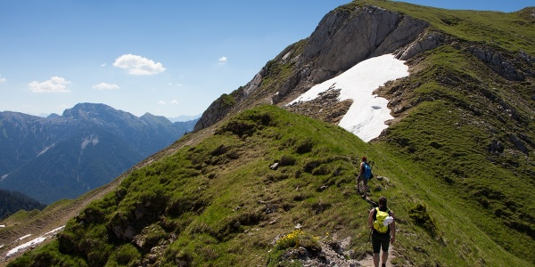Bergtour - Hochblasse, Grat zum Gipfel