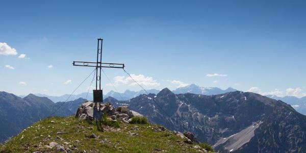 Bergtour - Hochblasse, Gipfelkreuz