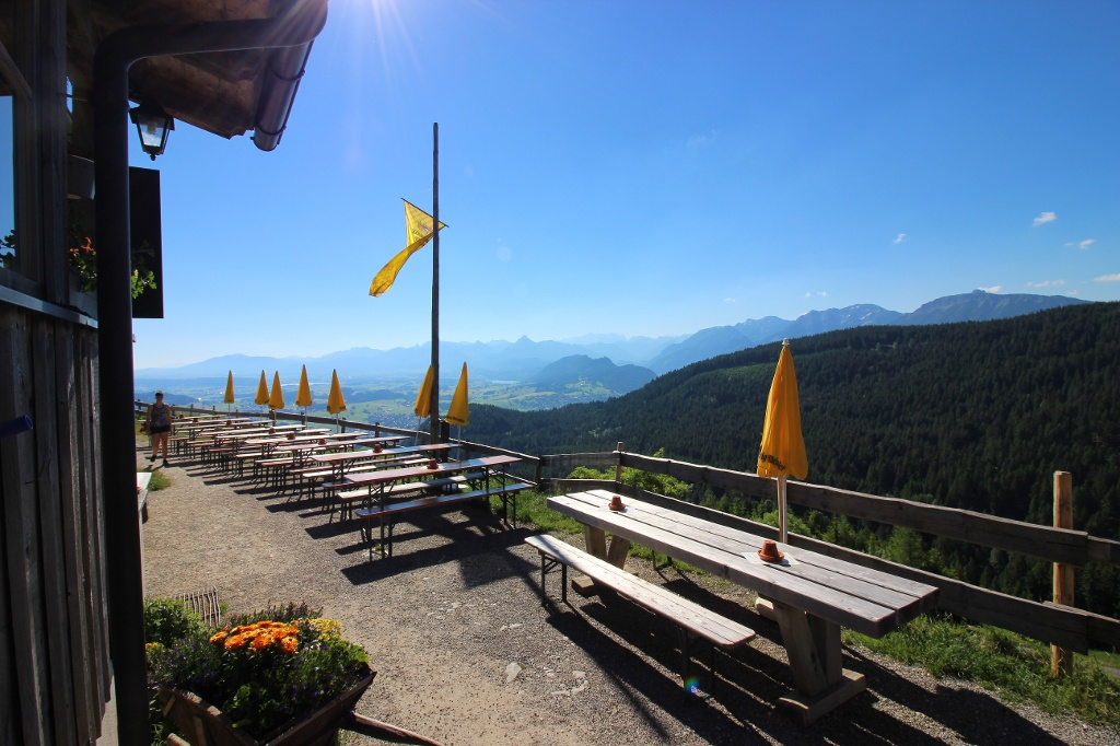 Aussicht von der Kappeler Alp - @ Autor: Julian Knacker - © Quelle: Pfronten Tourismus