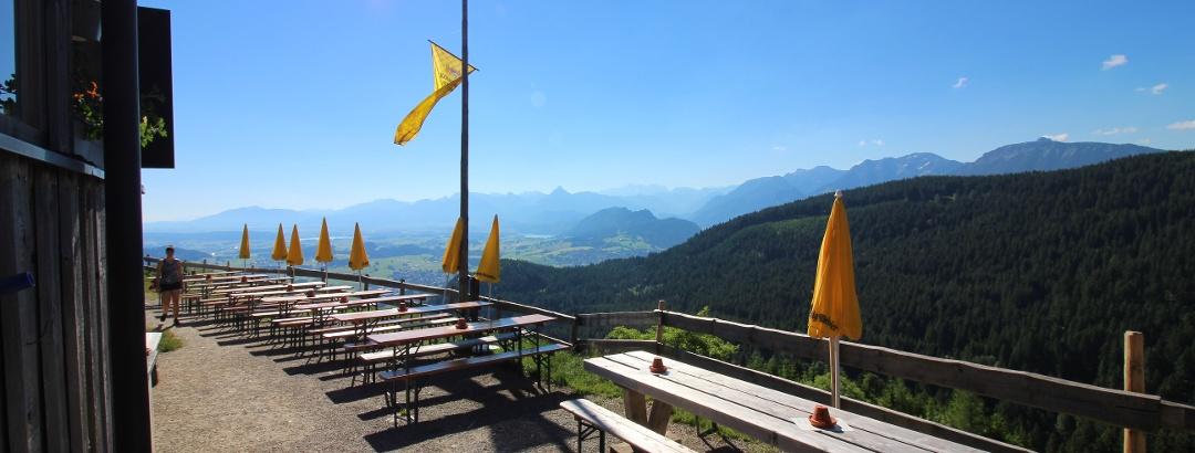 Aussicht von der Kappeler Alp