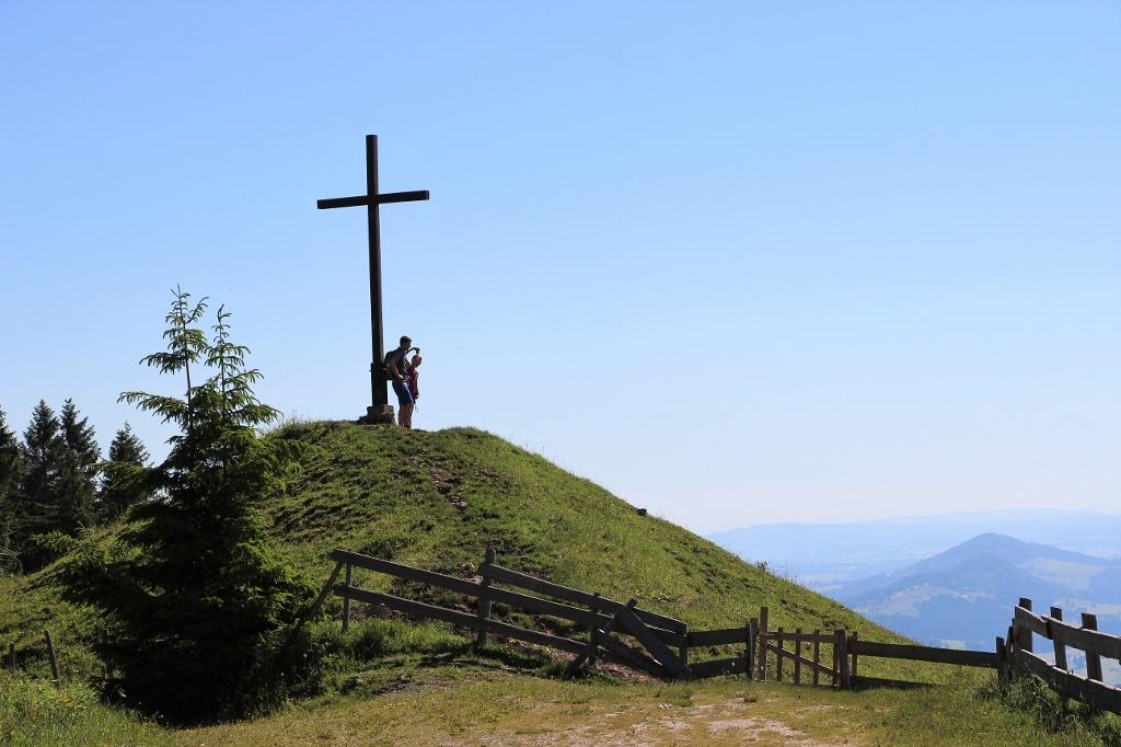 Gipfelkreuz bei der Kappeler Alp - @ Autor: Julian Knacker - © Quelle: Pfronten Tourismus