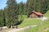 Alphütte Dinserhütte - @ Autor: Julian Knacker - © Quelle: Pfronten Tourismus