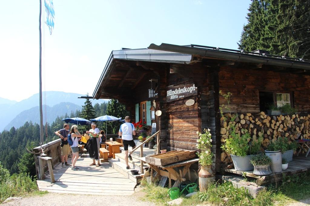 Hündeleskopfhütte - @ Autor: Julian Knacker - © Quelle: Pfronten Tourismus