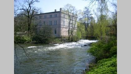 Die Kutzeburger Mühle am gleichnamigen Reiterhof.