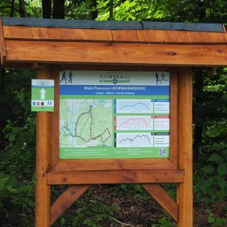 Informationsportal des Wald-Parcours Herrmannsberg