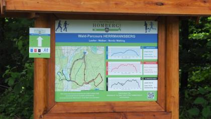 Infoportal des Wald-Parcours Herrmannsberg