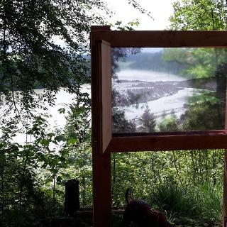 Panoramafenster: Der Lech - gestern und heute