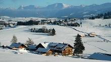Oberreute - Grenzüberschreitender Winterwanderweg