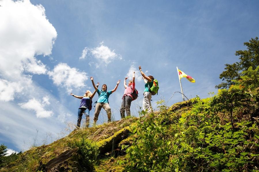 """Premiumwandern in Bad Peterstal-Griesbach:  Der  Himmelssteig, eine Tour  für """"Höhenverliebte"""""""