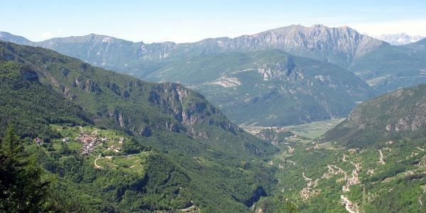 La valle del Rio Cavallo Rosspach
