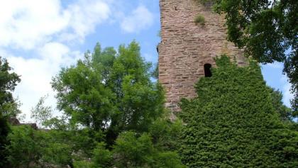 die Burg aus dem Innenhof