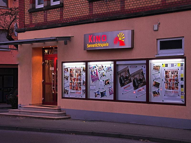 Außenansicht der Sonnenlichtspiele Gaildorf (Foto: Sonnenlichtspiele Gaildorf e. V.)  - @ Autor: Beate Philipp  - © Quelle: Hohenlohe + Schwäbisch Hall Tourismus e.V.