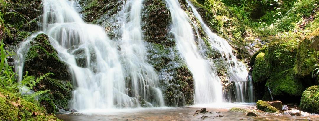 Der Holchenwasserfall