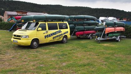 Pfannstiel Outdoor-aktiv Schwallungen: Werra-Touren