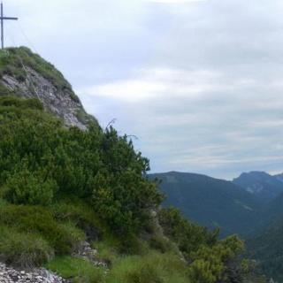 Gipfelflanke, Zwiesel und Staufen